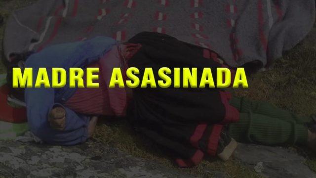 Madre asesinada en Cusco