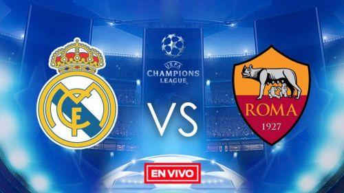Real Madrid vs Roma en vivo online
