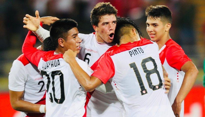 La seleccion sub de 17 derrotó a uruguay en el ultimo minuto