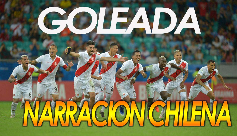 Asi narró la prensa chilena los goles de Perú