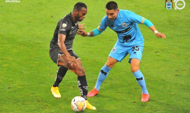Binacional perdió de local ante el LDU de Quito por copa Libertadores.