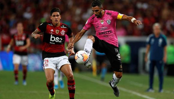 Independiente dle valle goleó a Flamengo por 5 - 0 Paliza!