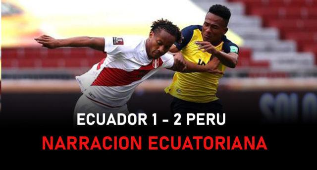 Narracion ecuatoriana del triunfo de Peru