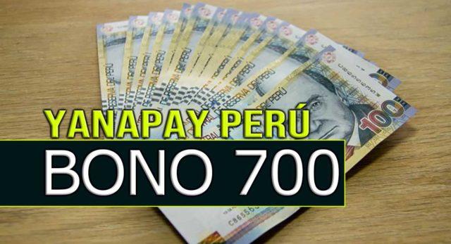 Yanapay Perú es el nuevo bono 700 de Pedro Castillo