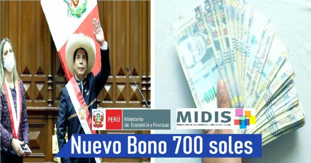 Cuando se cobrara el nuevo bono de 700